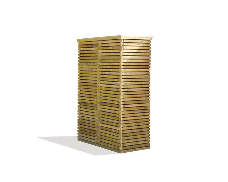 Luxe Tuinkast Blaricum 125 x 60 x 183 cm Scandinavisch Grenen