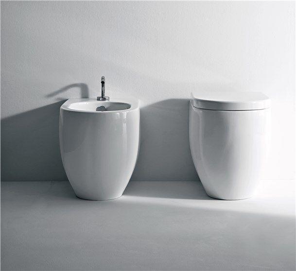 Sanitari Flo Ceramica Kerasan. Poco Sporgenti E Dal Bel Design, Comodi Con  Eccellente Smaltatura