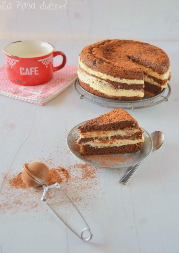 tarta tiramisu de chocolate con baileys