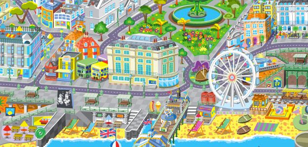 Cute Brighton map.