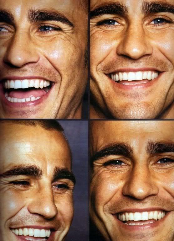 Fabio Cannavaro's sexy smile