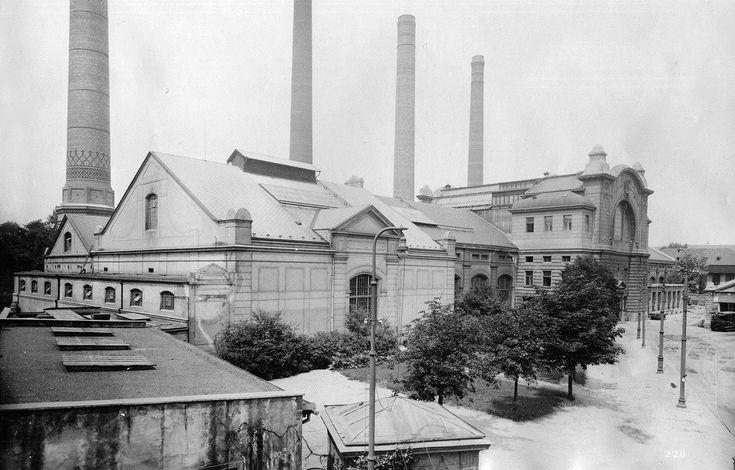 Holešovická elektrárna ...