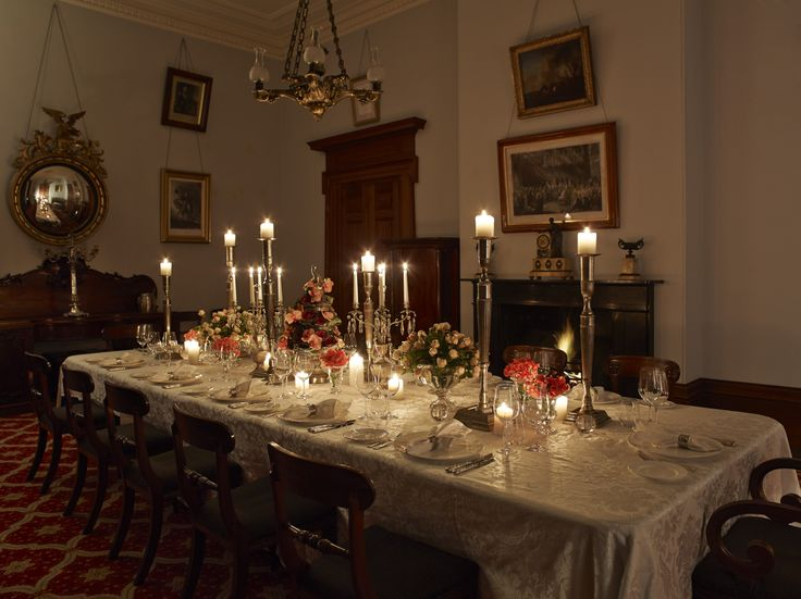 Dining Room, Elizabeth Bay House. Photograph © Fresh Catering.