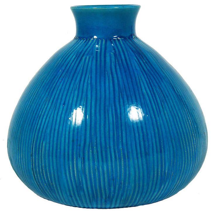 1stdibs.com | Large Ceramic Table Vase by Herman Kahler