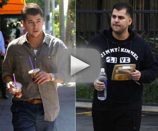Rob Kardashian: I Know I'm Fat, Shut Up About It!