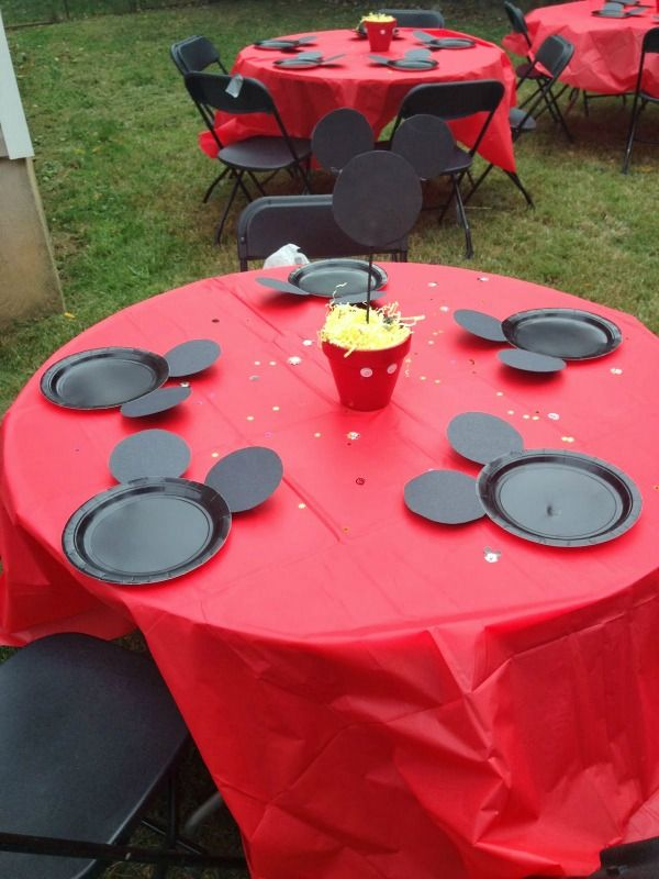 Mickey Mouse Plates