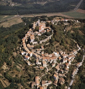 Istrian medieval towns: Motovun & Groznjan