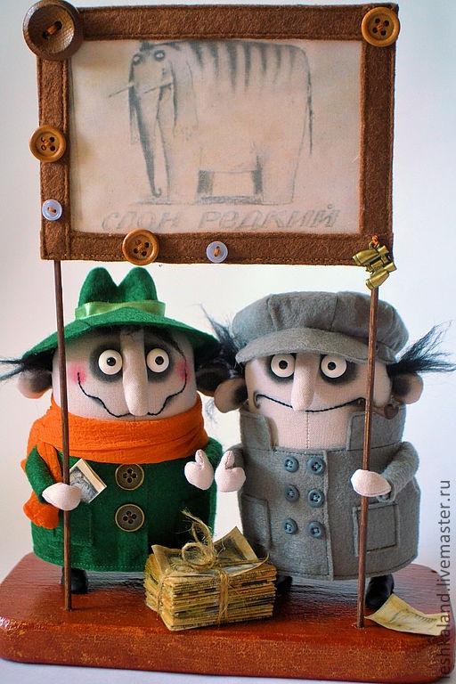 Men handmade.  Fair Masters - handmade Koloboks Brothers.  Handmade.