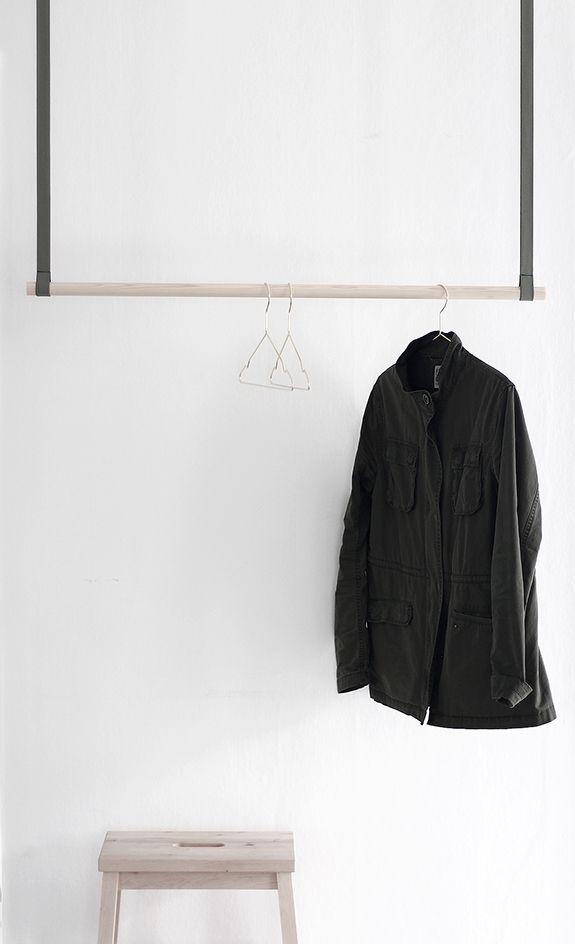 DIY – klädhängare av rundstav