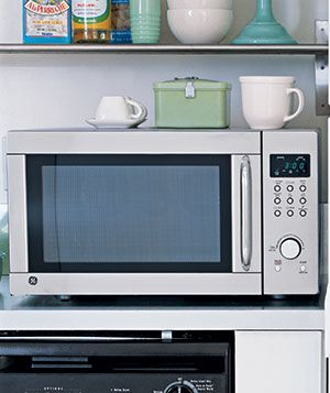 Clean your kitchen sponge by heating it in the microwave for one minute―so much faster than the dishwasher.