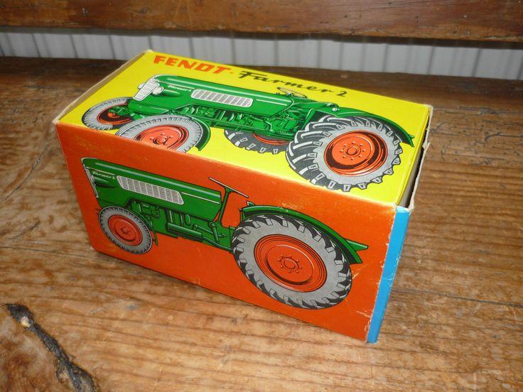 Original Cursor Fendt Farmer 2 mit OVP / Traktor Schlepper Modell Lanz Eicher in Antiquitäten & Kunst, Antikspielzeug, Modellbau | eBay