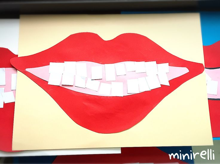 These mouth projects all come out as unique as the child that made them! All you need is paper and glue! You may need: Red construction paper Pink construction paper Any colour construction paper (…