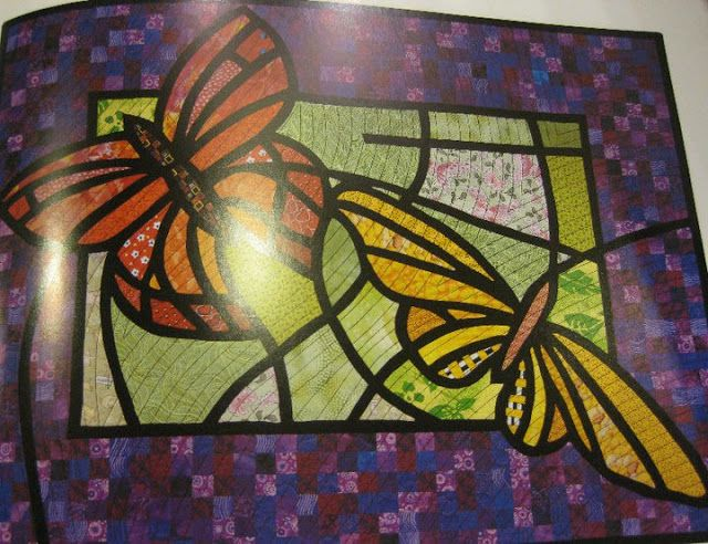 Stain glass quilt