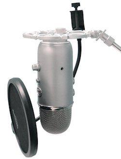 Auphonix Aluminum Shock Mount for Blue Yeti microphone