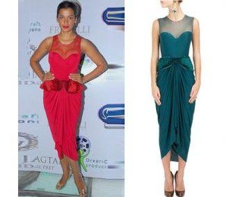 Mugdha Godse in Amit aggarwal #perniaspopupshop #shopnow #celebritycloset #designer #clothing #accessories