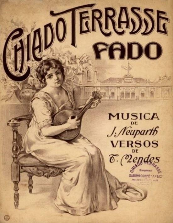 Fado vintage poster #Portugal