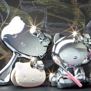 Hello Kitty Mirror Set (^∇^)