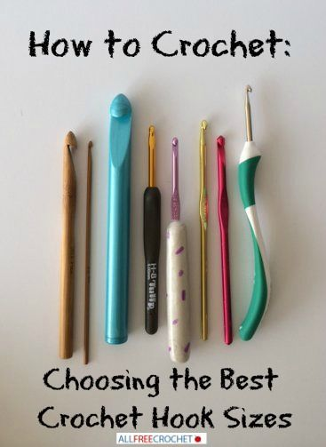 Crocheting Needle Sizes : Crochet hook sizes, Crochet hooks and Crochet on Pinterest
