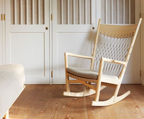 via the style files this is such a sweet rocker: Alexandra Angles, Closet Doors, Rocks Chairs, Awesome Rockers, Angles Interiors, Happy, Interiors Design, Bedrooms, Guest Houses