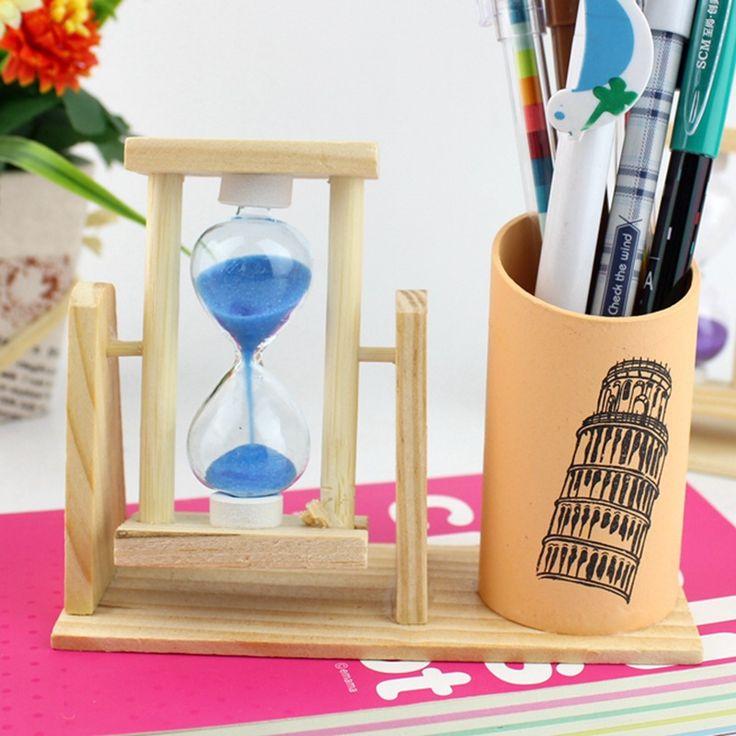 Online Shopping For Wooden Pen Holder  #woodenpenholder #deskdecor #tabledecoratingideas #tabledecor #officedecor
