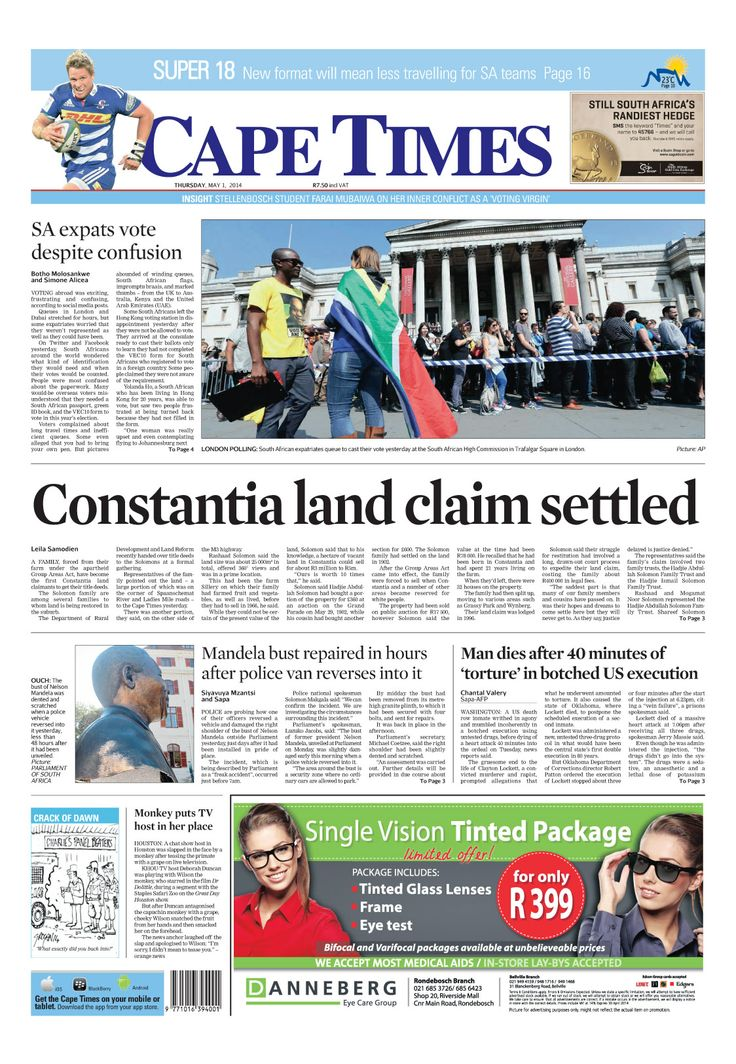 News making headlines: Constantia land claim settled