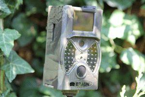 Braun Scouting Camera Black LED