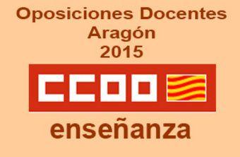 Oposiciones 2015 en Aragón