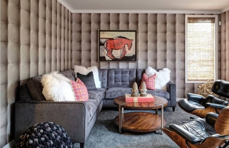 Geometric Patterns In The Interior Interior Design Living Room