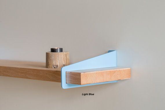 WallStirrup® Shelf Brackets Powder Coated by Quartertwenty - for the wall shelves