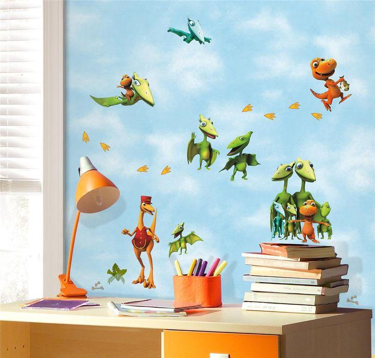40 best Decorations images on Pinterest Kids wall decor, Kid - dinosaur bedroom ideas