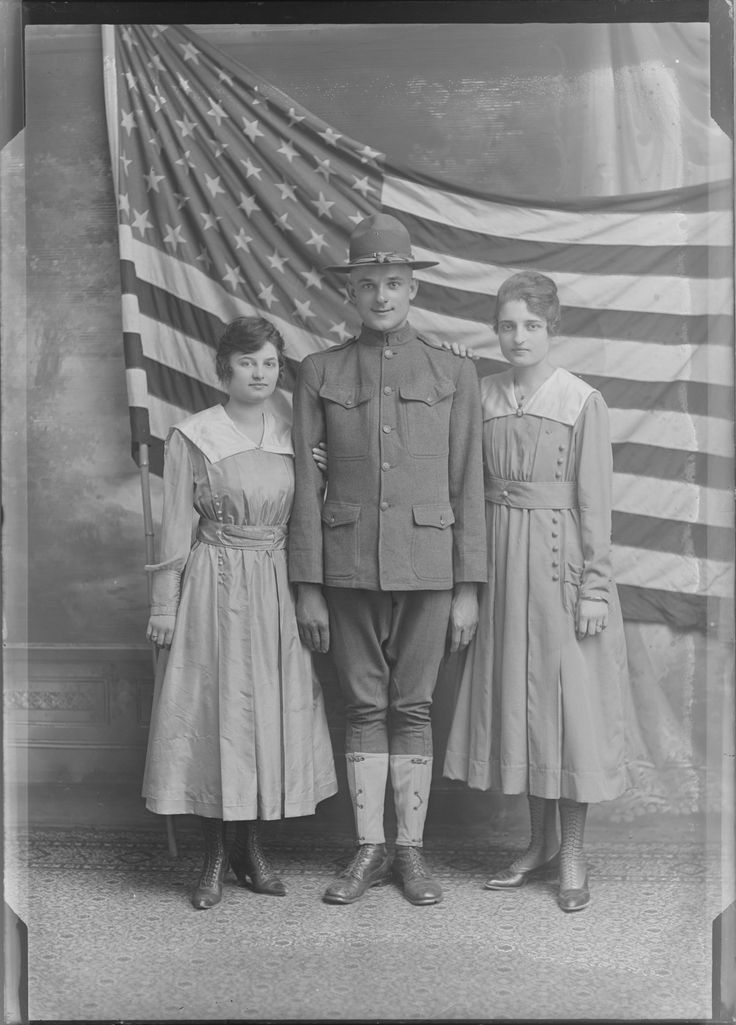We're currently installing an exhibit on the Great War and Milwaukee. If you're a Milwaukee local, stop by the Archives and take a gander!