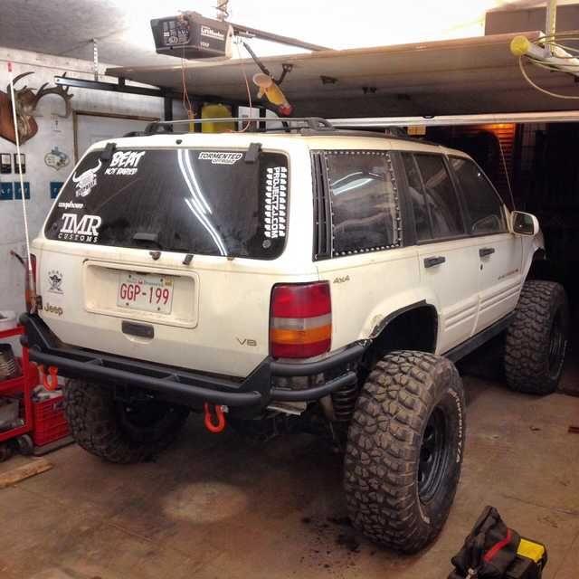 Zj Rear Bumper Complete Jeep Wj Jeep Grand Cherokee Zj Jeep Zj