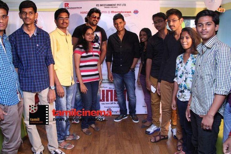 Actor #Jiiva Hangout at #MarryBrown  -   More Stills: http://tamilcinema.com/actor-jiiva-hangout-at-marry-brown-photos/