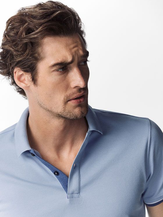 Spring Summer 2017 Men´s PLAIN POLO SHIRT WITH CONTRASTING DETAIL at Massimo Dutti for 350. Effortless elegance!