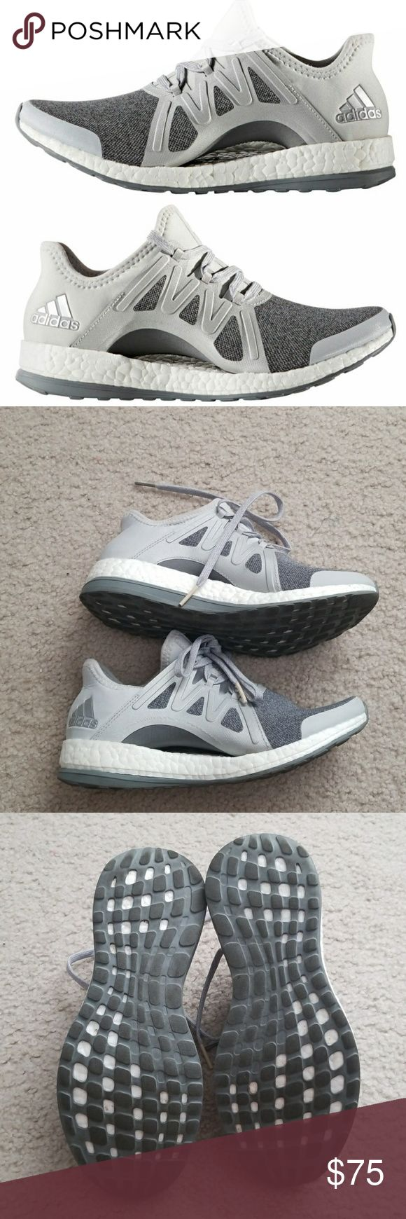 Adidas Pure Boost Size 5 women- fit size 5.5 or 6 Worn few times, in great condition  No flaws adidas Shoes Athletic Shoes