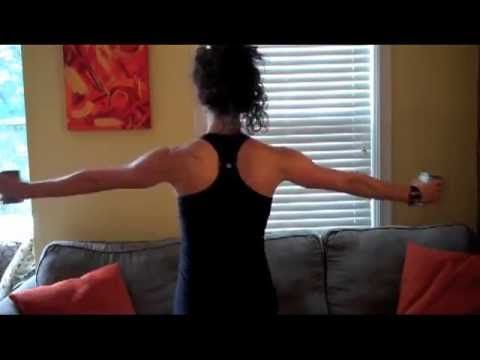 How to get Perfect Bride Arms: A workout by Lauren Hefez - YouTube