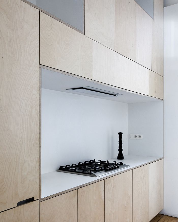 Plywood Interiors // Kitchen // T&S M Architecture