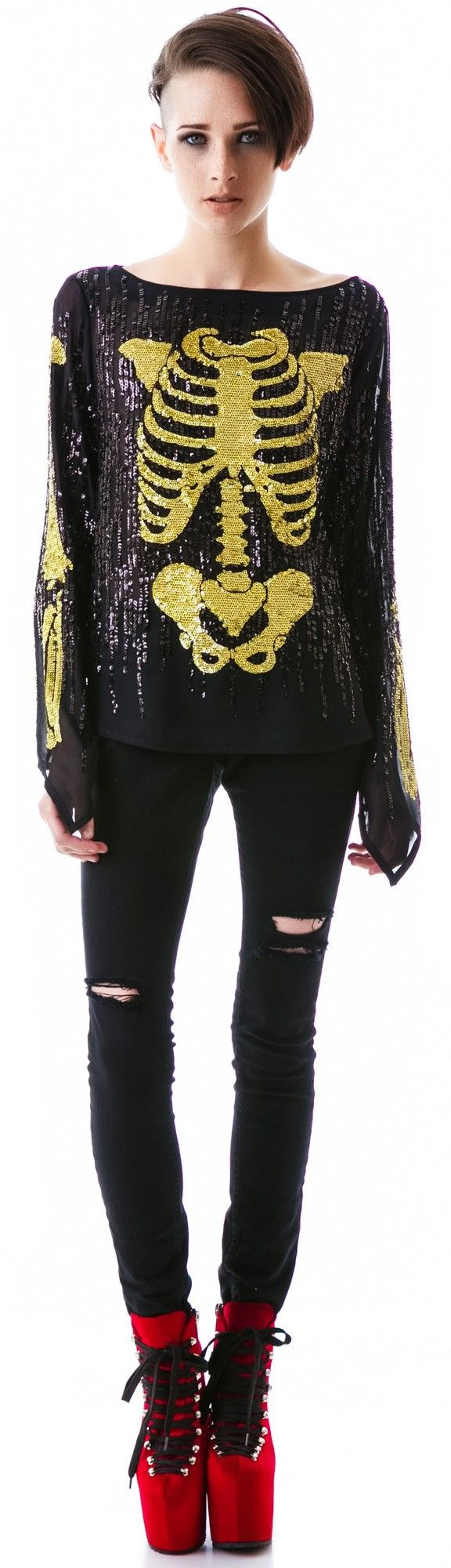 #Wildfox Couture Super Model Out All Night Top