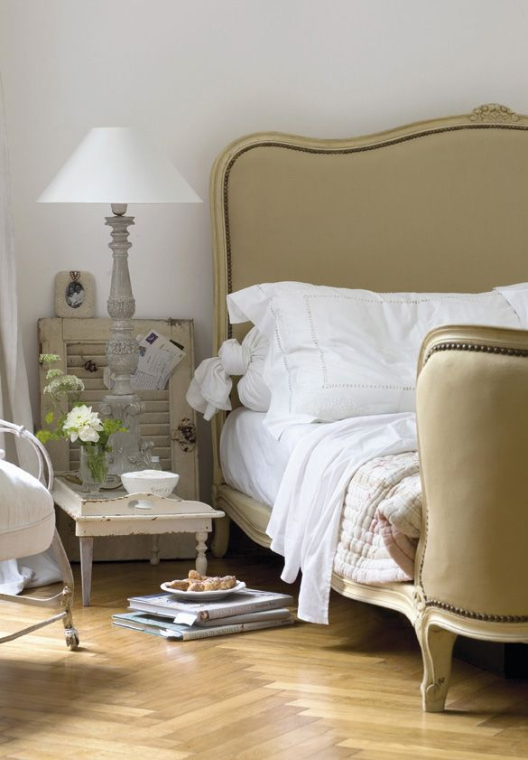 Cornelia Müller transformed an apartment from the 1800s into a quiet French vintage oasis for herself and her family. Featured on Inspiring Interiors Blog Originally Featured At http://interiormagasinet.hegnar.no/