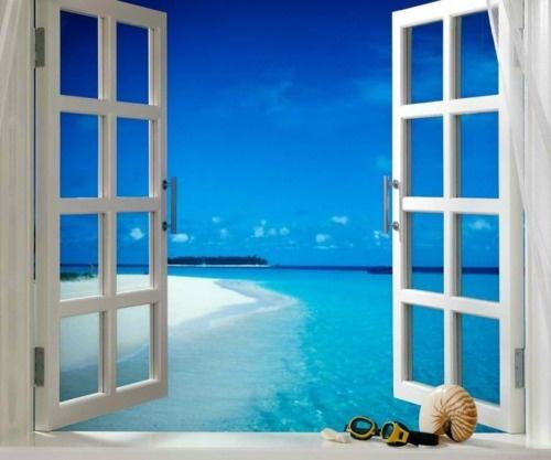 Blick aus dem fenster meer  129 besten Outside My Window......Dreaming! Bilder auf Pinterest ...