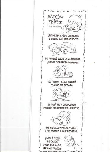 Los duendes y hadas de Ludi: Recursos ratoncito peréz