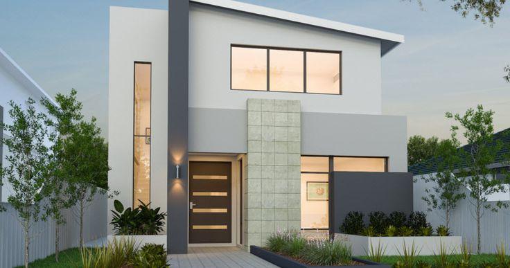 Planos de casas de dos pisos modernas cads3 facade for Planos para casas de dos pisos modernas