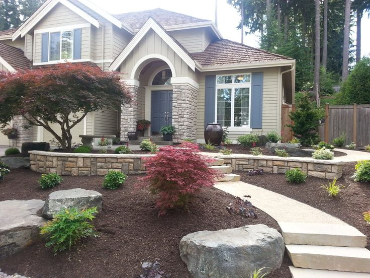 Landscape products landscaping home front yard pictures page curb appeal refers…