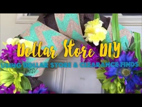 Dollar Store DIY Wreath