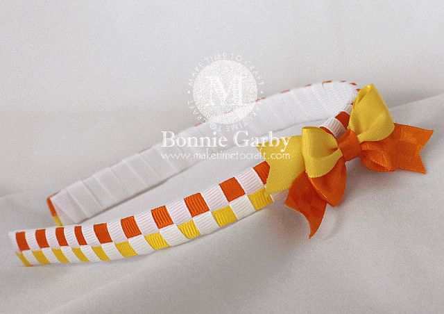 Really Reasonable Ribbon Blog: Basic Checkerboard Woven Ribbon Headband Video Tutorial