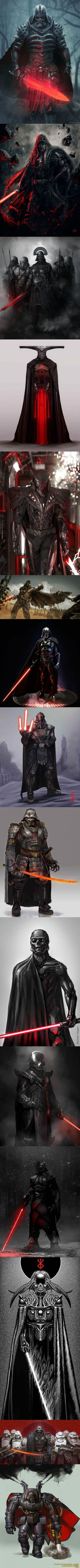 Fan Art Reimagined Darth Vader                                                                                                                                                                                 More