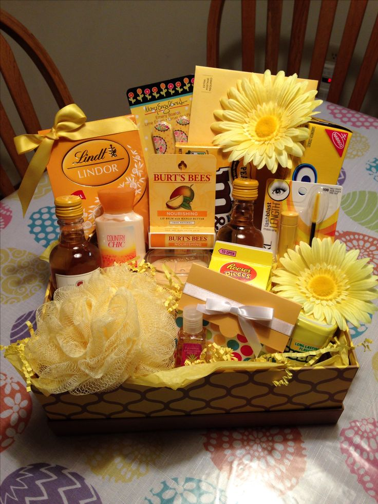Box of sunshine! Perfect for get well gifts or birthdays!