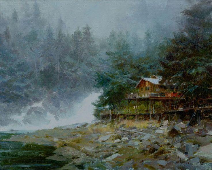 Картины с душой от талантливого художника Richard Schmid - Ярмарка Мастеров - ручная работа, handmade