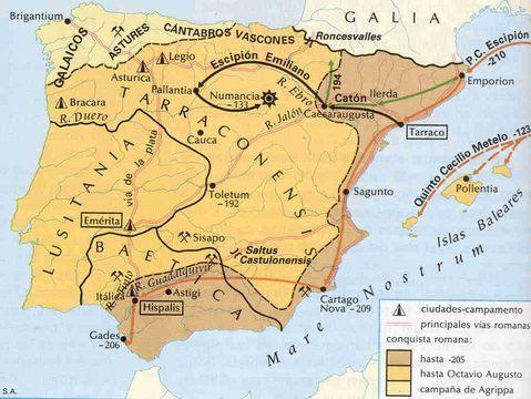 Conquista Romana de Hispania