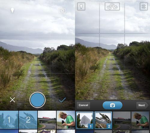 Tumblr iOS 7 Camera redesign  viahttp://blog.petervidani.com/post/54349418272
